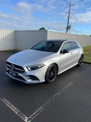 2018 Mercedes-Benz A-Class W177 A200 DCT Iridium Silver 7 Speed Sports Automatic Dual Clutch.