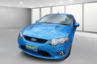 2010 Ford Falcon FG XR6 Turbo Ute Super Cab 50th Anniversary Blue 6 Speed Sports Automatic Utility.