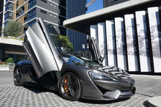 2017 McLaren 570S P13 Storm Grey 7 Speed Sports Automatic Dual Clutch Coupe.