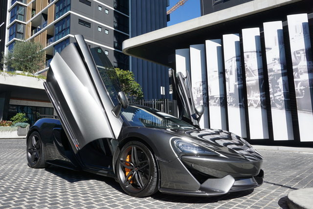 Used McLaren 570S P13 East Brisbane, 2017 McLaren 570S P13 Storm Grey 7 Speed Sports Automatic Dual Clutch Coupe