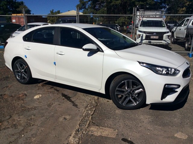 Demo Kia Cerato BD MY21 Sport+ Toowoomba, 2021 Kia Cerato BD MY21 Sport+ Snow White Pearl 6 Speed Sports Automatic Sedan