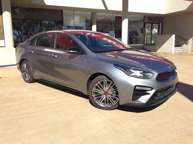 New Kia Cerato BD MY21 GT DCT Toowoomba, 2021 Kia Cerato BD MY21 GT DCT Steel Grey 7 Speed Sports Automatic Dual Clutch Sedan