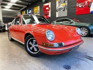 1971 Porsche 911 T Blood Orange Manual Coupe.
