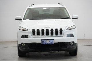 2016 Jeep Cherokee KL MY16 Longitude Bright White 9 Speed Sports Automatic Wagon.