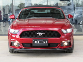 2016 Ford Mustang FM SelectShift Red 6 Speed Sports Automatic Convertible.