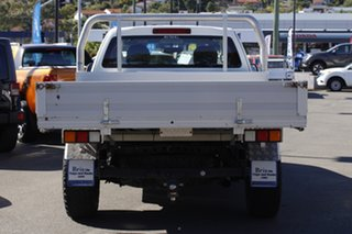 2013 Isuzu D-MAX MY12 SX Space Cab White 5 Speed Sports Automatic Cab Chassis
