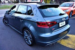 2015 Audi S3 8V MY15 S Tronic Quattro Grey 6 Speed Sports Automatic Dual Clutch Sedan