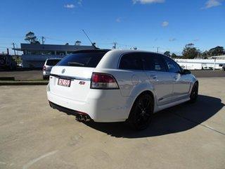2013 Holden Commodore VF MY14 SS V Sportwagon Redline Heron White 6 Speed Automatic Wagon