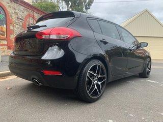 2014 Kia Cerato YD MY14 S Black/Grey 6 Speed Sports Automatic Hatchback.