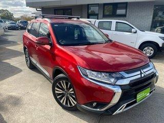 2018 Mitsubishi Outlander ZL MY19 LS AWD Red 6 Speed Sports Automatic Wagon.