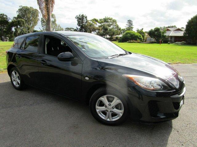 Used Mazda 3 BL 10 Upgrade Neo Glenelg, 2011 Mazda 3 BL 10 Upgrade Neo Black 6 Speed Manual Hatchback