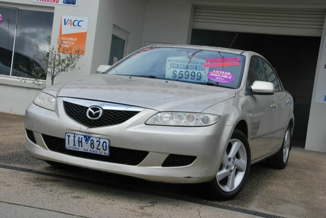 Used Mazda 6 GG Classic Wendouree, 2004 Mazda 6 GG Classic Gold 5 Speed Manual Hatchback