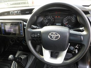 2017 Toyota Hilux TGN121R Workmate 4x2 Charcoal 5 Speed Manual Cab Chassis