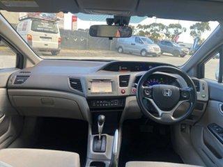 2013 Honda Civic 9th Gen Ser II VTi-LN Black 5 Speed Sports Automatic Sedan