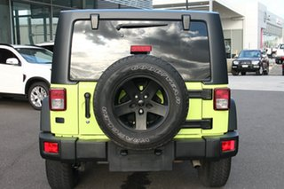 2016 Jeep Wrangler JK MY2016 Sport Green 5 Speed Automatic Softtop