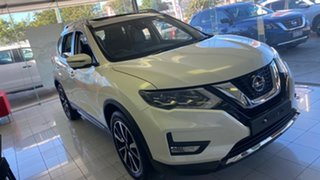 2021 Nissan X-Trail T32 MY21 Ti X-tronic 4WD Ivory Pearl 7 Speed Constant Variable Wagon.