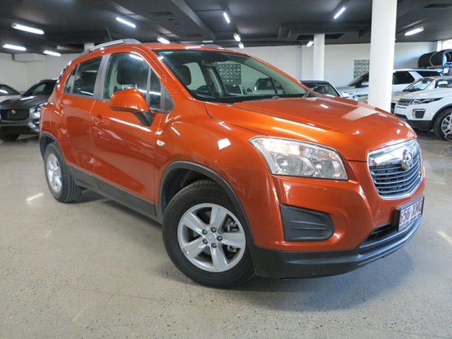 Used Holden Trax TJ MY16 LS Albion, 2016 Holden Trax TJ MY16 LS Orange 6 Speed Automatic Wagon