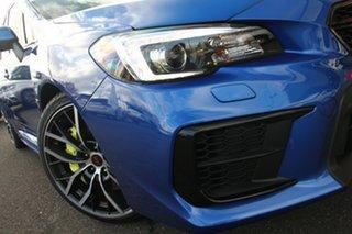 2019 Subaru WRX V1 MY20 STI AWD Premium Blue 6 Speed Manual Sedan.