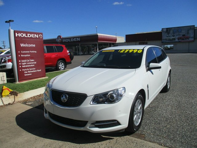 Used Holden Commodore VF II MY17 Evoke Sportwagon North Rockhampton, 2017 Holden Commodore VF II MY17 Evoke Sportwagon White 6 Speed Sports Automatic Wagon