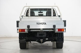 2016 Toyota Hilux GUN126R SR Double Cab White 6 Speed Manual Cab Chassis