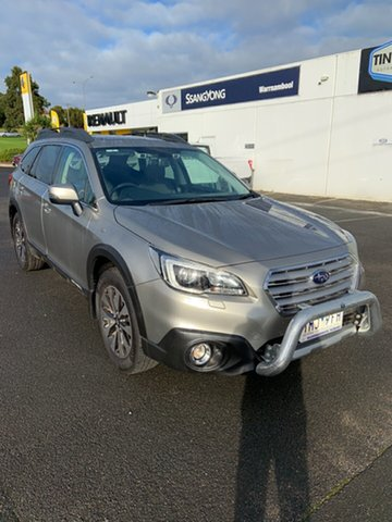 Used Subaru Outback B6A MY18 2.5i CVT AWD Premium Warrnambool East, 2017 Subaru Outback B6A MY18 2.5i CVT AWD Premium Tungsten Metal 7 Speed Constant Variable Wagon