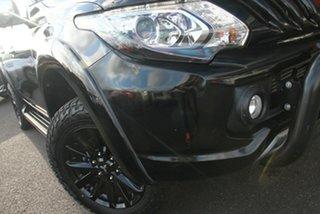 2017 Mitsubishi Triton MQ MY17 GLS Double Cab Sports Edition Black 5 Speed Sports Automatic Utility.