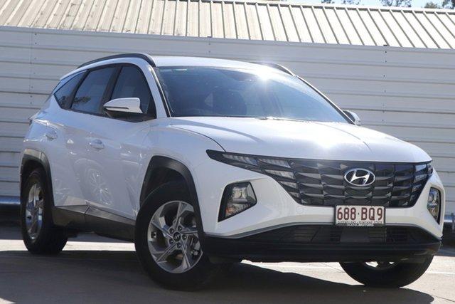 Demo Hyundai Tucson NX4.V1 MY22 2WD Beaudesert, 2021 Hyundai Tucson NX4.V1 MY22 2WD White Cream 6 Speed Automatic Wagon