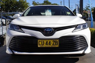 2019 Toyota Camry AXVH71R Ascent White 6 Speed Constant Variable Sedan Hybrid.