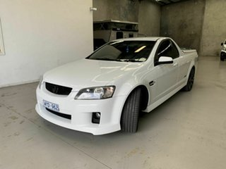 2009 Holden Ute VE MY09.5 SS White 6 Speed Sports Automatic Utility.
