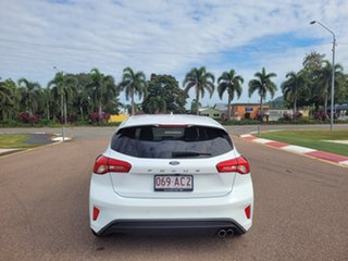 2019 Ford Focus SA 2019.25MY ST-Line Frozen White 8 Speed Automatic Hatchback