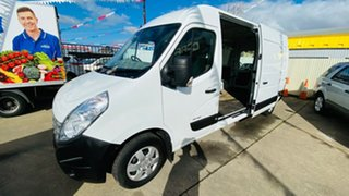 2014 Renault Master X62 Mid Roof LWB AMT RWD White 6 Speed Sports Automatic Single Clutch Van