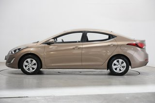 2015 Hyundai Elantra MD3 Active Satin Amber 6 Speed Sports Automatic Sedan.