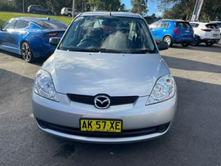 2006 Mazda 2 DY10Y2 Neo Silver 4 Speed Automatic Hatchback.