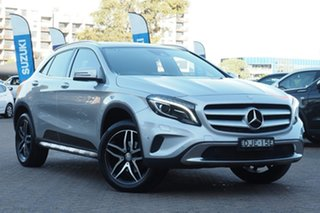 2016 Mercedes-Benz GLA180 X156 MY17 Silver 7 Speed Auto Dual Clutch Wagon.