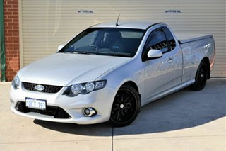 2009 Ford Falcon FG XR6 Ute Super Cab Silver 5 Speed Sports Automatic Utility.
