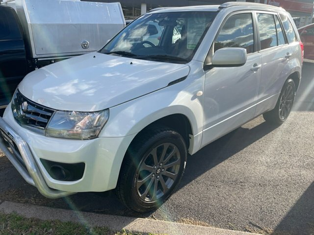 Used Suzuki Grand Vitara JB Sport Maitland, 2015 Suzuki Grand Vitara JB Sport White 4 Speed Automatic Wagon