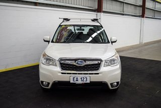 2014 Subaru Forester S4 MY14 2.5i Lineartronic AWD Luxury White 6 Speed Constant Variable Wagon.