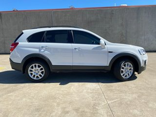 2016 Holden Captiva CG MY17 Active 2WD Summit White 6 Speed Sports Automatic Wagon.