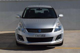2014 Suzuki Swift FZ MY14 GL Navigator Silver 4 Speed Automatic Hatchback