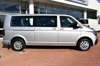 2021 Volkswagen Caravelle T6.1 MY21 TDI340 LWB DSG Trendline Reflex Silver 7 Speed