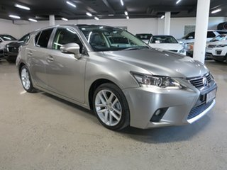 2017 Lexus CT ZWA10R MY16 CT200h Limited Edition Silver 1 Speed Constant Variable Hatchback Hybrid.