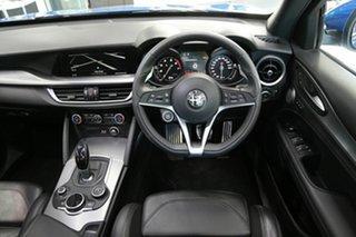 2018 Alfa Romeo Stelvio Ti AWD Blue 8 Speed Sports Automatic Wagon