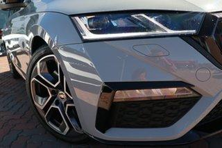 2021 Skoda Octavia NX MY21 RS DSG Steel Grey 7 Speed Sports Automatic Dual Clutch Wagon.
