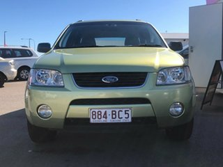 2005 Ford Territory SY TS AWD Green 6 Speed Sports Automatic Wagon