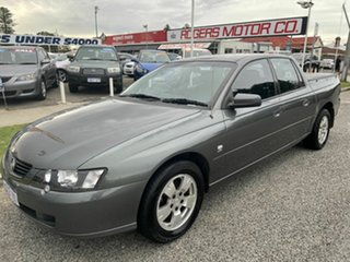 2003 Holden Crewman VY II S Grey 4 Speed Automatic Crew Cab Utility.