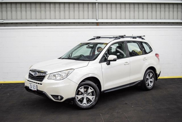 Used Subaru Forester S4 MY14 2.5i Lineartronic AWD Luxury Canning Vale, 2014 Subaru Forester S4 MY14 2.5i Lineartronic AWD Luxury White 6 Speed Constant Variable Wagon