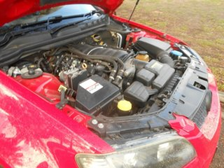 2009 Holden Ute VE MY09.5 SS V Red 6 Speed Sports Automatic Utility