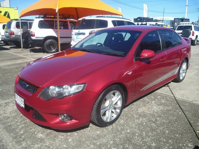 Used Ford Falcon FG XR6 Morayfield, 2008 Ford Falcon FG XR6 Maroon 5 Speed Sports Automatic Sedan