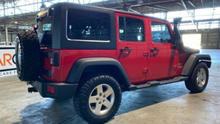 2011 Jeep Wrangler JK MY2010 Unlimited Sport Red 4 Speed Automatic Softtop