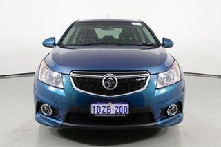 2012 Holden Cruze JH MY13 SRi V Blue 6 Speed Automatic Sedan.